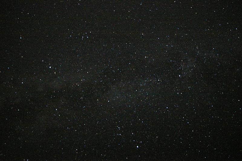 白鳥座と星空